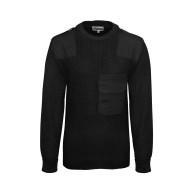 BW Pullover mit Brusttasche black