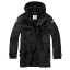 BW Parka Flag black